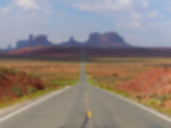 Monument Valley route