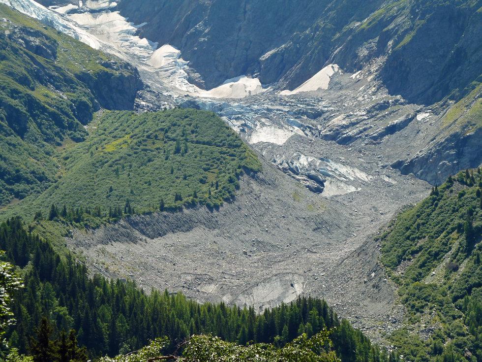Chamonix - les Houches - Randonnée - Nid d'Aigle - glacier bionnassay