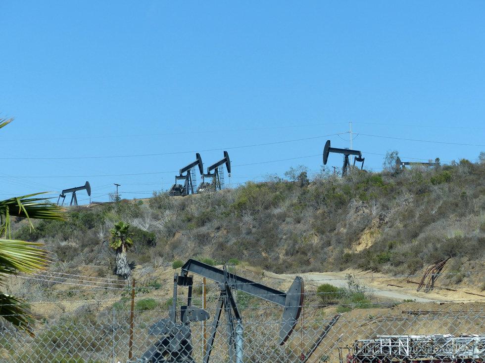 Los Angeles puits de pétrole