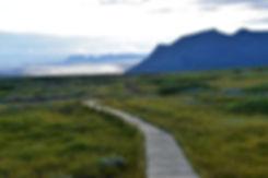 skaftafell trail islande iceland