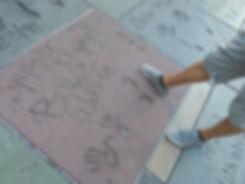 Grauman's Chineese Theate Hollywood Boulevard Bruce Willis