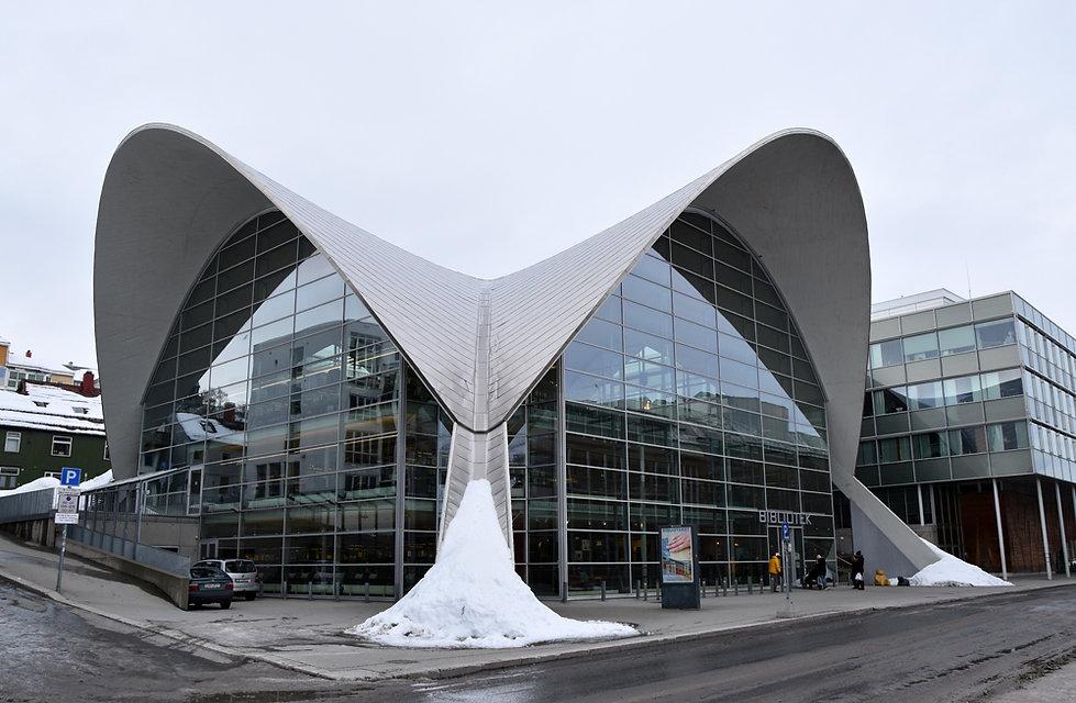 Norvège - Tromsø - Bibliothèque municipale