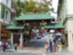 San Francisco Portail Chinatown