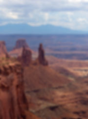 Canyonland National Park Washer Woman Arch