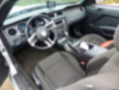Mustang 2014 intérieur