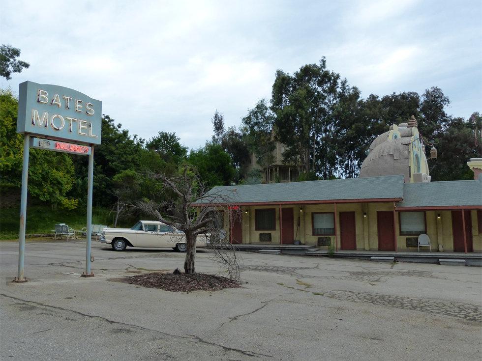Universal Studios Hollywood studio tour Psychose Bates Motel