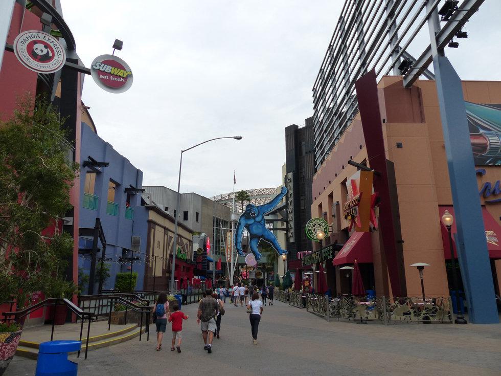 Universal Studios Hollywood city walk