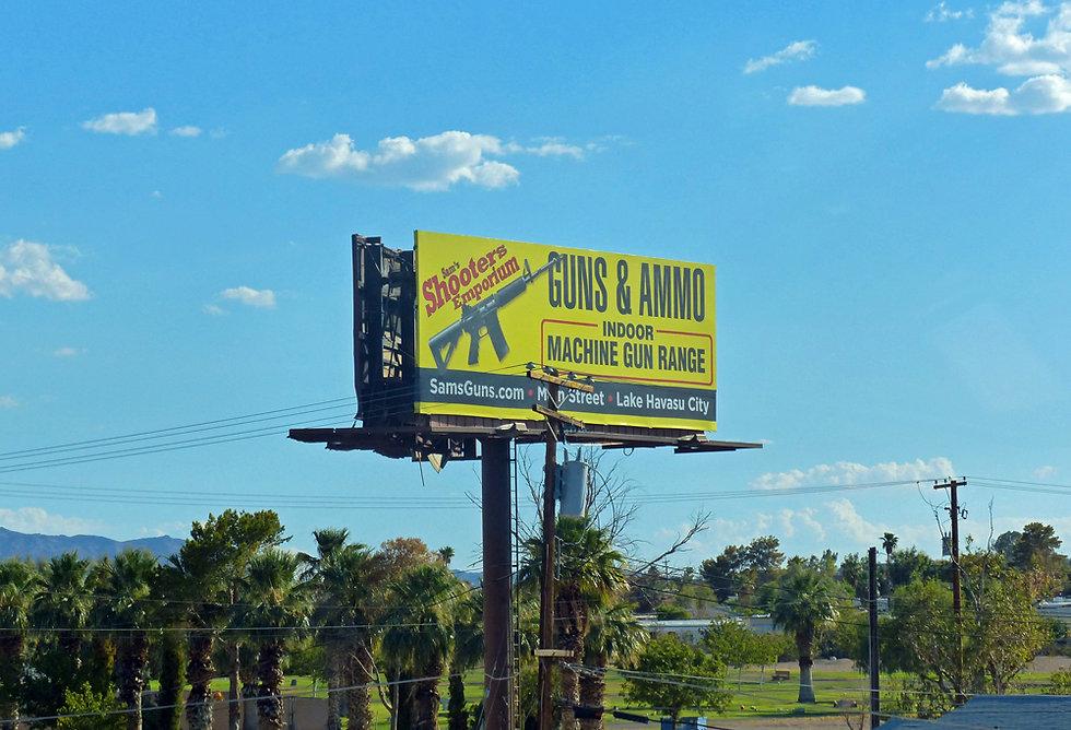 Californie - Interstate 40 - panneaux