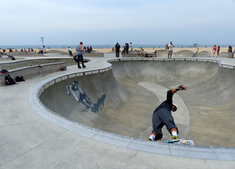 Los Angeles Venice beach skate park
