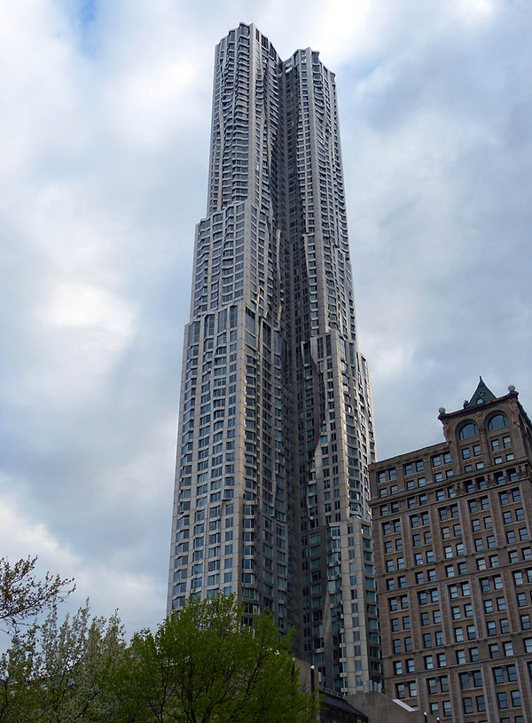New-York - Tour Gehry
