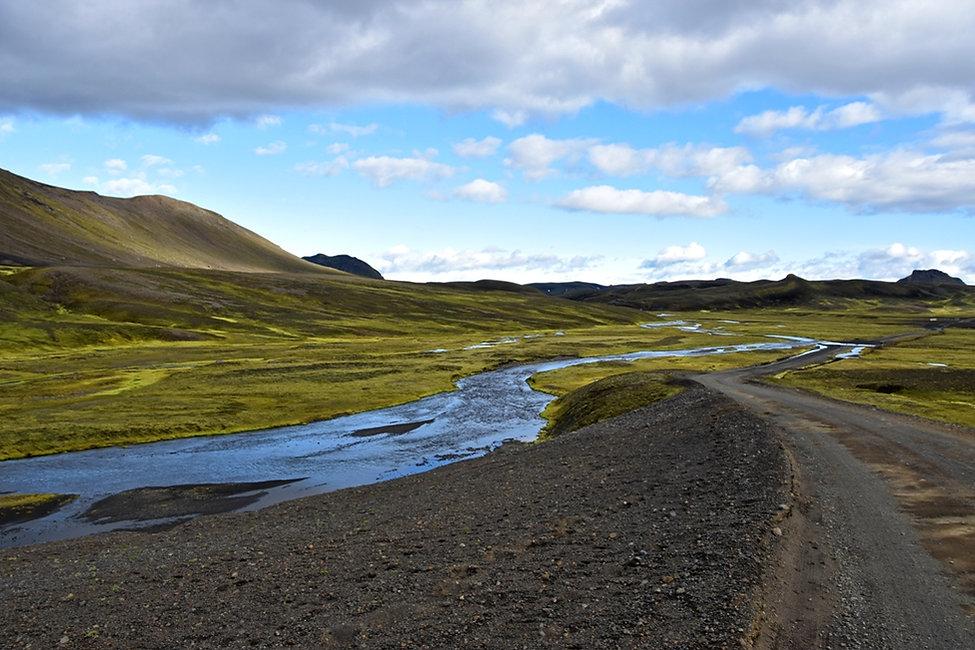iceland island f208 rivière