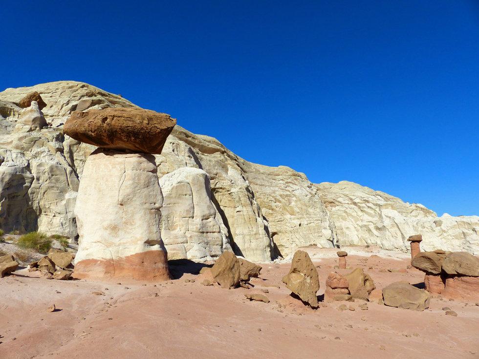 Grand Straircase Escalante National Monument Toadstool Hoodoos