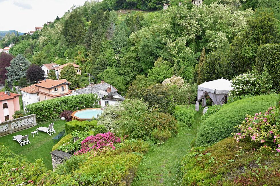 Côme La Villa B&B jardin