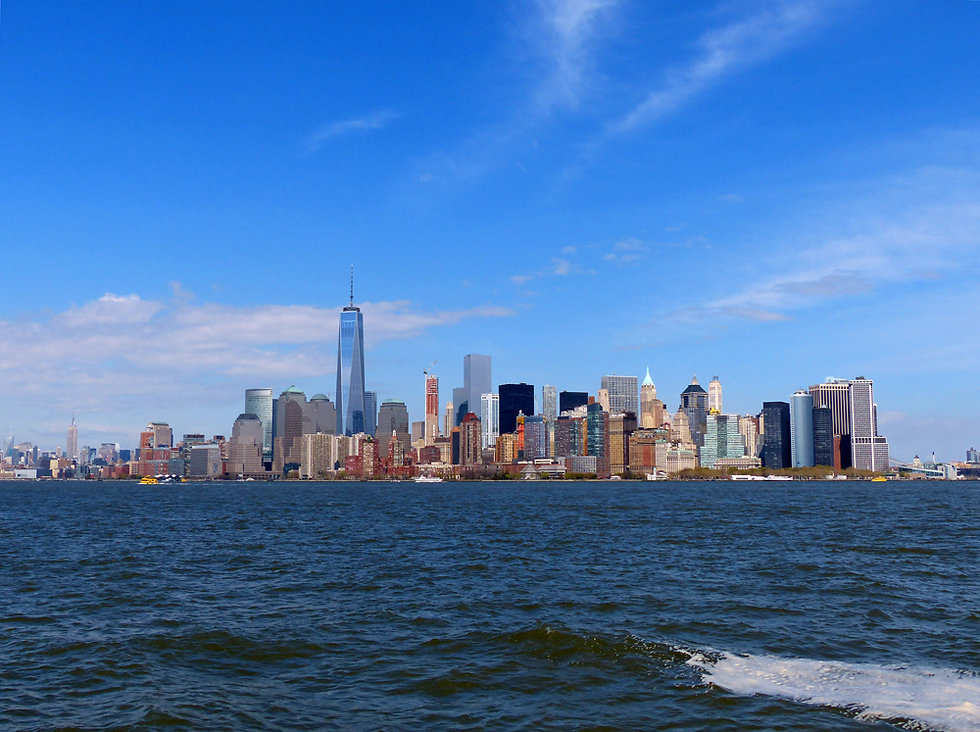 New-York - Ellis Island - Skyline