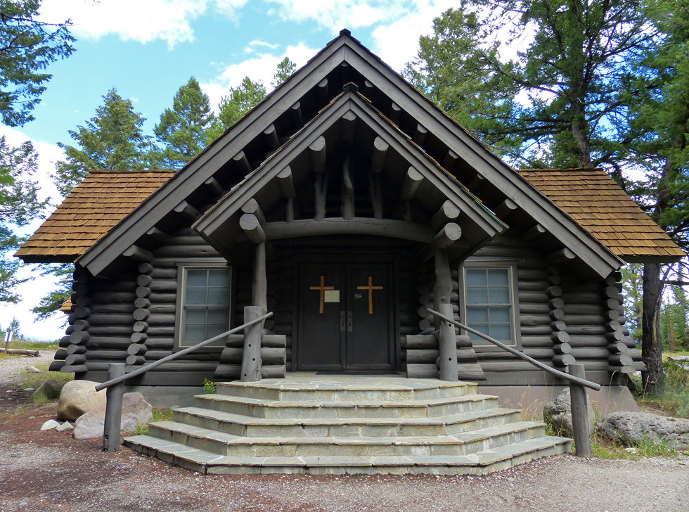 Grand Teton National Park Chapel of the sacred heart