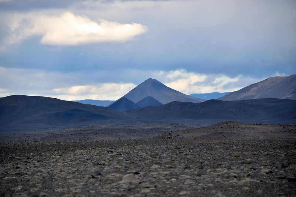 Piste F910 askja désert hautes terres islande iceland