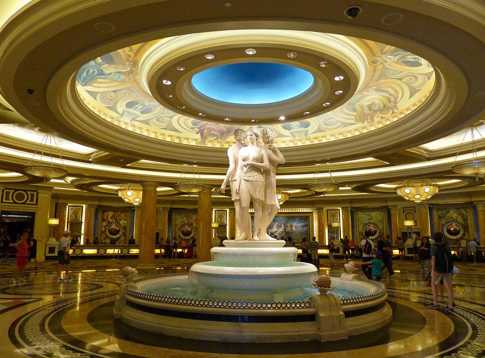 Las Vegas Caesars Palace lobby