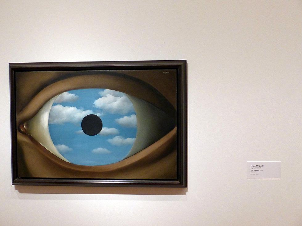 New-York - MOMA - Le faux miroir