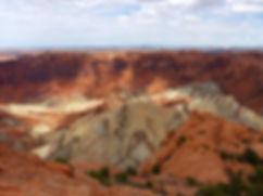 Canyonland National Park Upheaval Dome