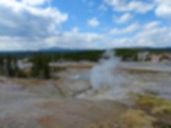 Yellowstone National Parc Norris Geyser Basin Guardian Geyse