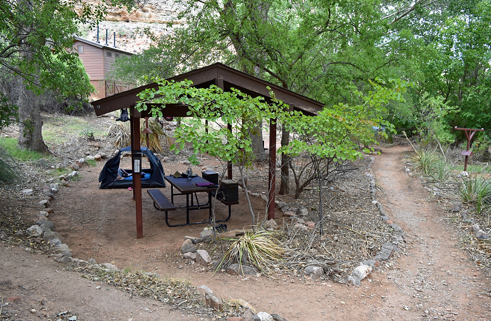 Arizona - Grand Canyon National Park - Bright Angel Trail - Indian Garden Campground