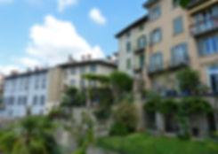 Bergame Citta Alta ville haute