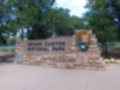 panneau grand canyon national park