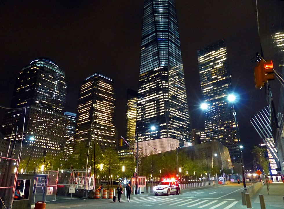 New-York - WTC la nuit