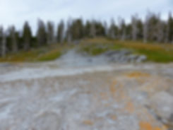 Yellowstone National Park Upper Geyser Basin Grand Geyser