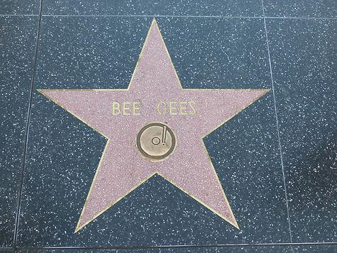 Hollywood Boulevard Bee Gees