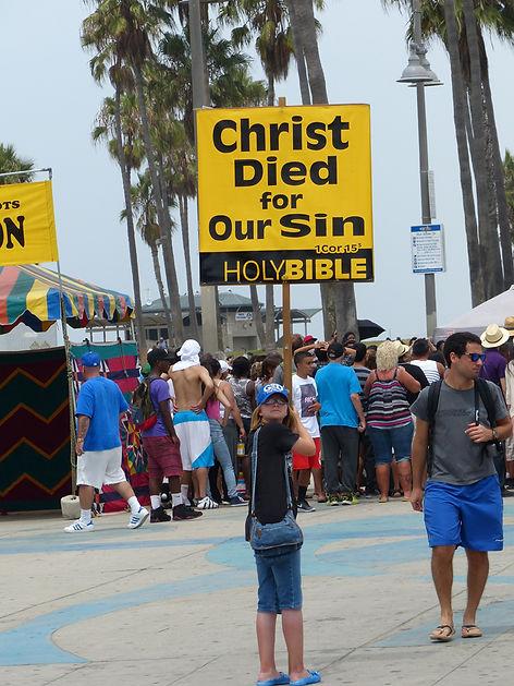 Los Angeles Venice beach ocean front walk precheurs