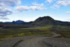 iceland island f208 volcan piste