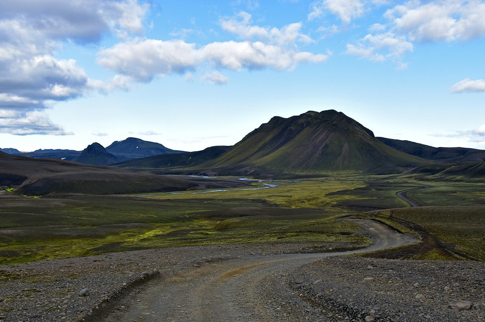 iceland island f208 volcan piste