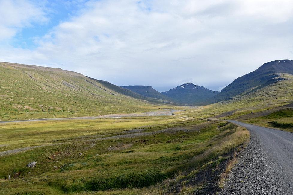 Fjord est route piste 953 Mjóifjördur
