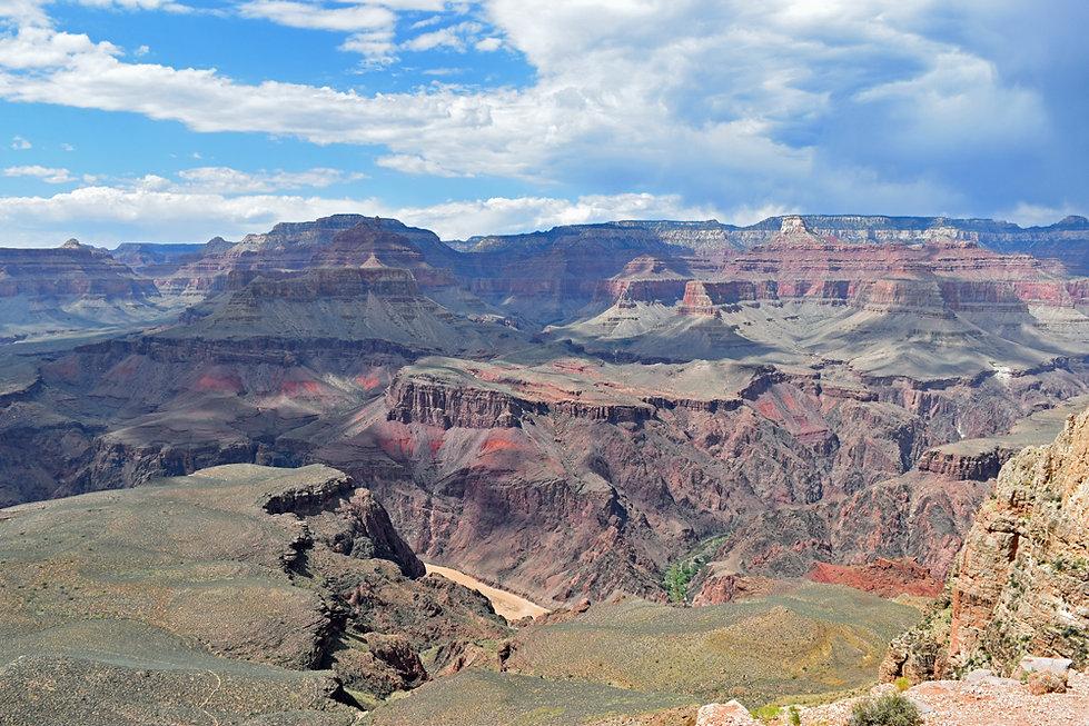 Arizona - Grand Canyon National Park - South Kaibab Trail - Skeleton Point