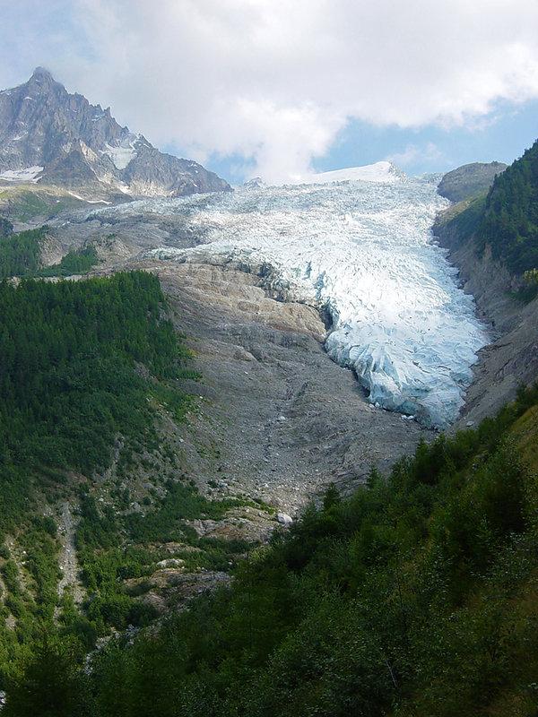 Chamonix - Glacier des Bossons 2004