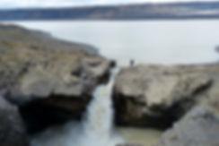islande F335 lac Hagavatn cascade chute