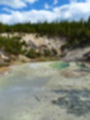 Yellowstone National Parc Norris Geyser Basin Monarch Geyser