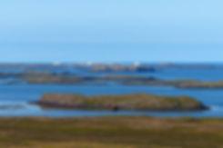 Islande Stykkisholmur baie bateau échoué