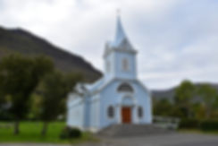 Seydisfjördur fjord est islande east iceland eglise church
