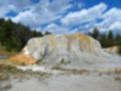 Yellowstone National Parc Mammoth Hot Spring Orange Spring Mound