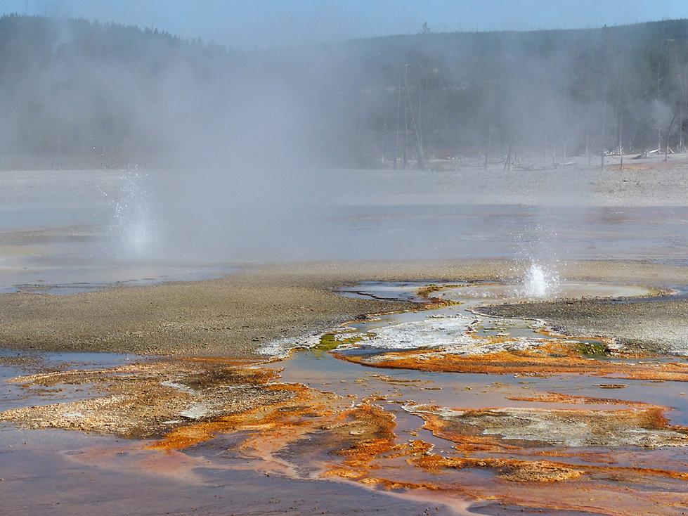 Yellowstone National Park Black Sand Basin