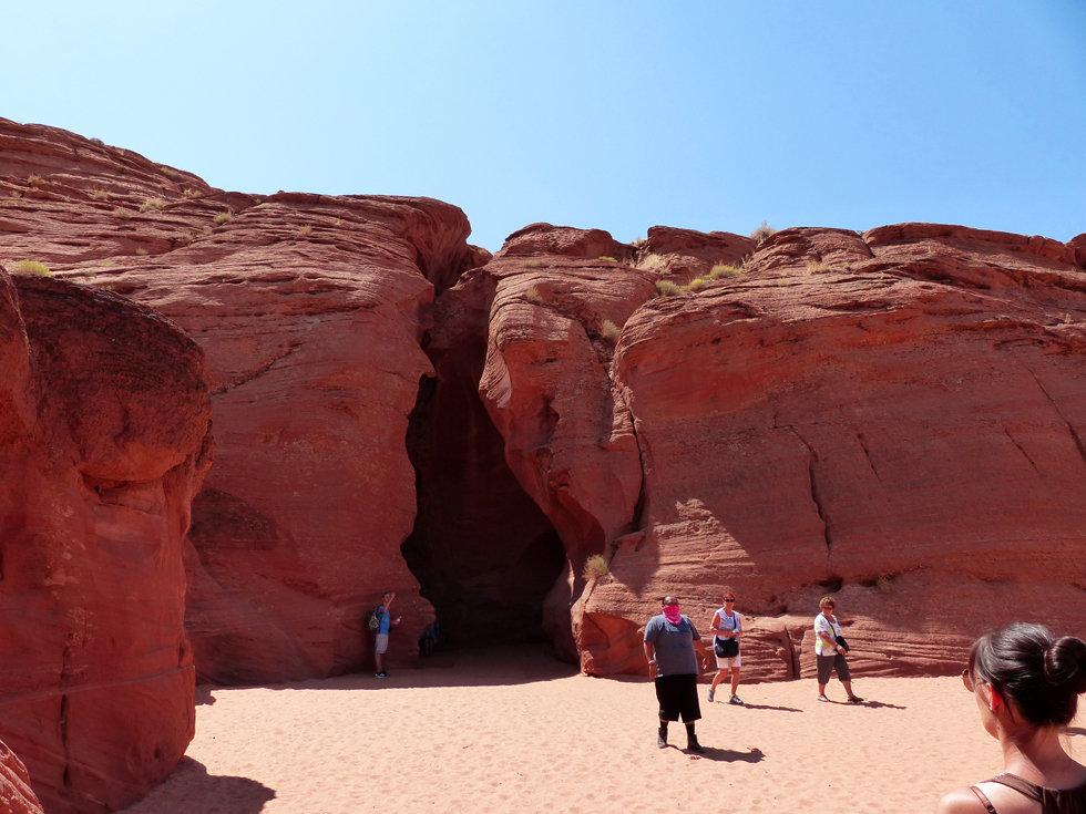 Upper Antelope Canyon entrée