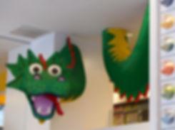 New-York - Lego Store - dragon