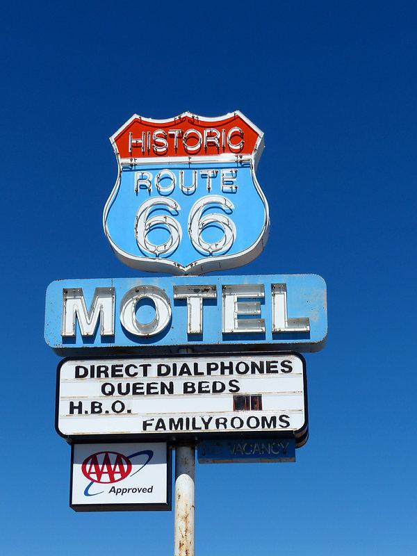 Seligman route 66 panneau
