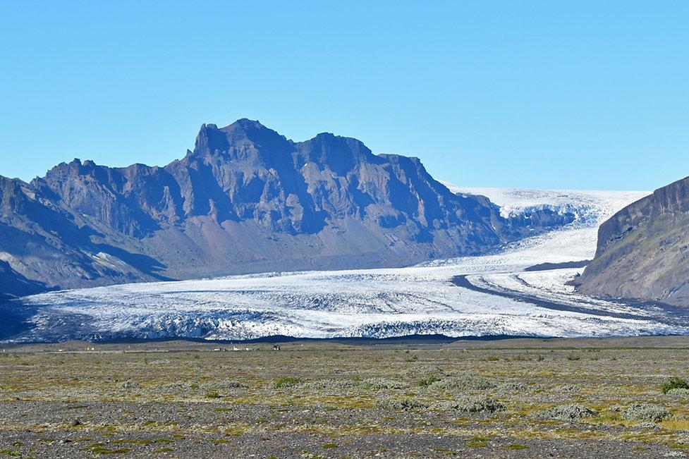 Skaftafellsjökull glacier Vatnajökull islande iceland