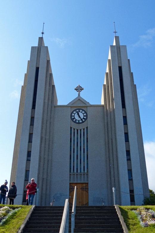 islande - Akureyri - Akureyrarkirkja