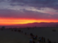 Los Angeles Santa Monica Beach Sunset