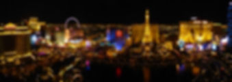Las Vegas Bellagio panorama nuit