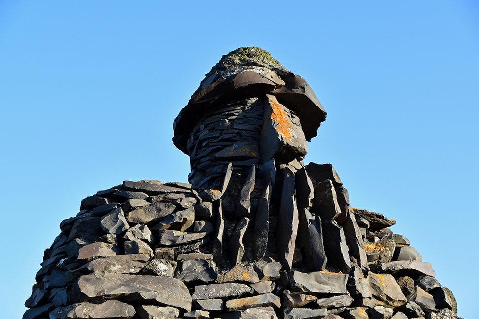 Islande Arnarstapi sculpture Bardur
